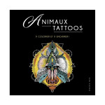 Illustrations à colorier Animaux Tattoos