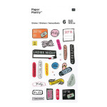 Stickers pour agenda Magical Summer Organisation x 6 planches