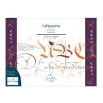 Bloc de papier Calligraphie Lana 250 g/m² 12 fles - 24 x 32 cm