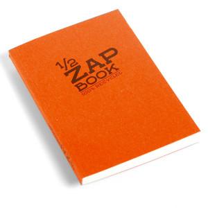 Bloc papier 1/2 Zap Book encollé - 14,8 x 10,5 cm (A6)