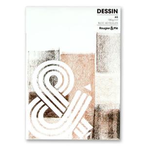 BLOC DESSIN CREA A5 180G 60F