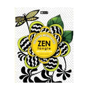 Livre Zentangle décoration