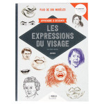 Livre Apprendre à dessiner les expressions du visage