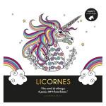 Carnet Happy coloriage Licornes