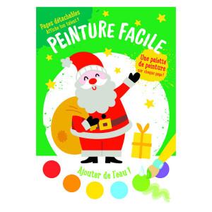 Album de peinture Le père Noël