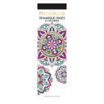 Marque-pages à colorier Mandalas